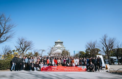 Japan discovery and spring journey 2020: Prosperity with Vietnam Star