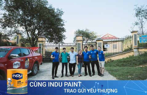 GIVE LOVE WITH INDU PAINT